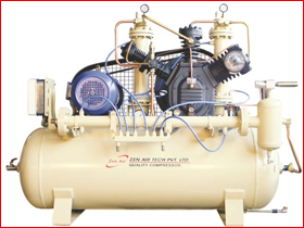 175H High Pressure Water Cooled Inter Cooling Air Compressor