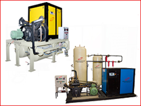 Air Booster Compressor Package