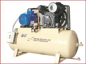 Low Pressure Two Stage Air Compressor